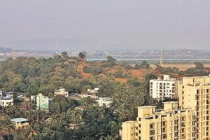 TMC plans to develop New Thane on the other side of the creek.