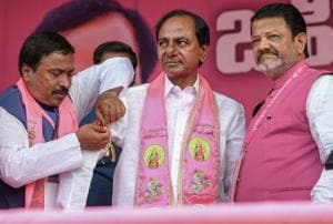 Telangana Rashtra Samithi president and chief minister K Chandrasekhar Rao has assets worth Rs 22.60 crore and an annual income of Rs 2.07 crore but does not own any cars.