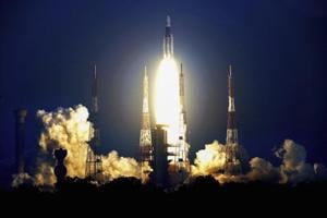 The GSAT 29 was launched from Satish Dhawan Space Centre at Sriharikota  aboard  the indigenously developed GSLV Mark III, which has the capability to carry heavy payloads up to 4 tonnes to a geosynchronous transfer orbit.