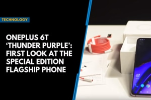 OnePlus 6T 'Thunder Purple': First look at the special edition flagship...