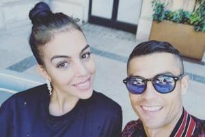 Cristiano Ronaldo and Georgina Rodriguez have a daughter together.
