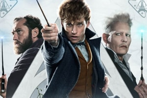 Fantastic Beasts The Crimes of Grindelwald movie review: Jude Law, Eddie Redmayne and Johnny Depp star in a revisionist Harry Potter tale.