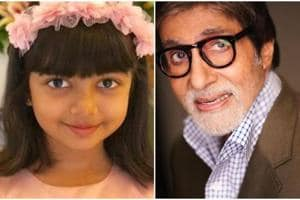 Amitabh Bachchan wished grand daughter Aaradhya on her birthday on Friday.