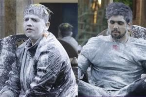 Romil Chaudhary and Shivashish Mishra  faced all odds to survive during the captaincy task in the Bigg Boss house.
