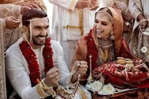 Love is in the air for the newlyweds, Deepika Padukone and Ranveer Singh who got married in a Konkani followed by a Sindhi ceremony.