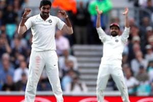 Jasprit Bumrah made his Test debut against South Africa earlier this year.