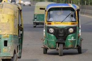 A 21-year-old dancer was arrested from southeast Delhi for allegedly snatching money from an auto driver to splurge on his girlfriends, police said Thursday.