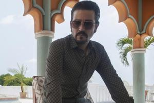 Diego Luna plays the infamous drug lord Felix Gallardo in Netflix's Narcos: Mexico.