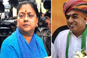 The Congress on Saturday released its second list of 32 candidates, pitting former external affairs minister Jaswant Singh's son and former Bharatiya Janata Party (BJP) legislator Manvendra Singh against chief minister Vasundhara Raje from Jhalrapatan assembly constituency and reviving the old rivalry between the two families