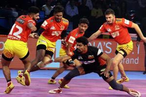 Pro Kabaddi League 2018: Bengal Warriors win, Gujarat-Bengaluru match ends in a tie