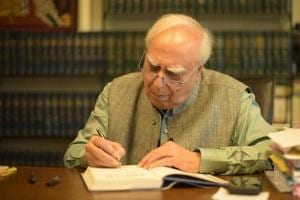 Kapil Sibal is a successful lawyer turned politician, rich enough to be able to spend a few lakhs to acquire a painting by MF Husain and a poet who writes in three languages.