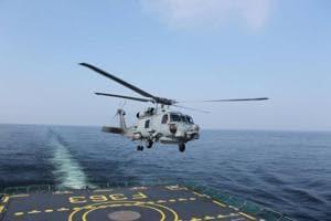 USMH60 Romeo Seahawk helicopter