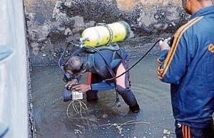 Rescue operation underway, in Patna on Saturday