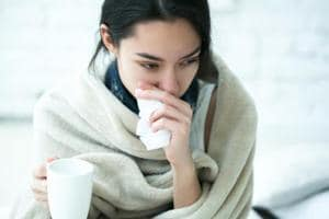 Common winter illnesses include the flu, eczema, joint pain, and cold sores.