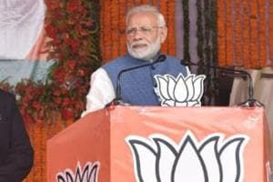 """PMNarendra Modi said four generations of a family ruled the country and """"benefited from being in power"""", but the country did not benefit from their rule."""