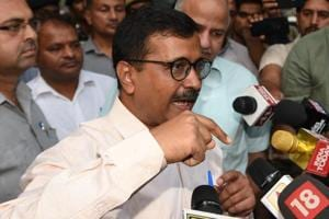 Delhi chief minister and Aam Aadmi Party (AAP) supremo Arvind Kejriwal on Saturday alleged that he was not allowed to visit Karnal's Bal Pabana village in Haryana and stopped at Panipat.