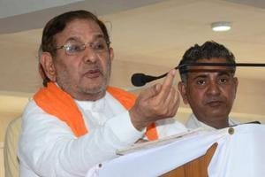 Opposition leader Sharad Yadav said on Sunday the BJP's hope to return to power at the Centre will be buried in Uttar Pradesh and Bihar.