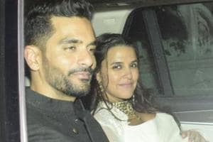 Actors Neha Dhupia and Angad Bedi tied the knot in a quiet ceremony in May.