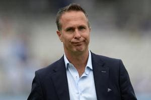 File picture of Michael Vaughan