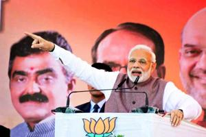 Prime Minister Narendra Modi will on Monday dedicate two projects in Haryana.