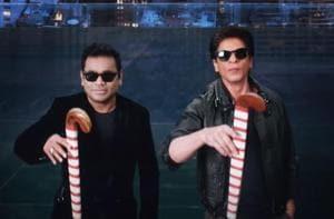 Shah Rukh Khan and AR Rahman feature in the song teaser.