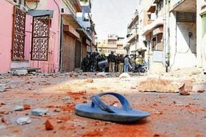 Communal tension in walled city of Jaipur, dozen hurt in stone-pelting