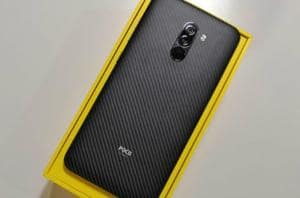 Xiaomi Poco F1 has an exchange offer of Rs 2,000 on Flipkart.