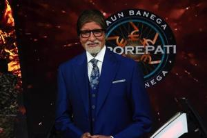 Amitabh Bachchan concludes shoot for KBC season 10.