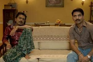 Nawazuddin Siddiqui becomes Sacred Games' Ganesh Gaitonde once again, binges on Narcos Mexico with Bunty in new video