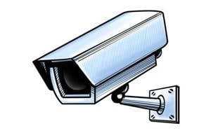 The burglary in a departmental store in north Delhi's Roop Nagar was caught on the CCTV cameras installed in the store.  Two operators monitor the live video footage of all the stores round-the-clock.