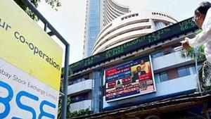 BSE Sensex pared early gains and turned choppy after opening over 200 points higher .