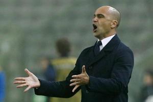 File image of Belgium coach Roberto Martinez.