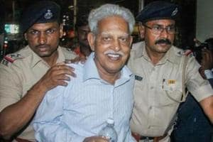 Writer Varavara Rao has been arrested in connection with the Bhima Koregaon case, stemming from the Elgar Parishad event.