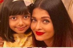 Aishwarya Rai recently celebrated Aaradhya's birthday with the whole family.