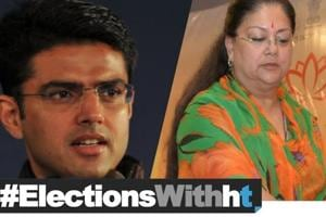 Elections 2018: Battle for Rajasthan hits top gear, Can Raje ride back to...