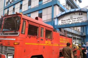 The fire was reported in the genetic research wing of Chittaranjan National Cancer Institute (CNCI) in south Kolkata.