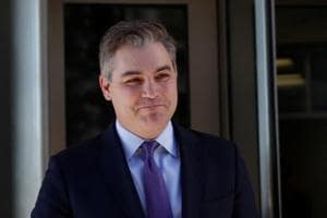 Cable News Network (CNN) Chief White House correspondent Jim Acosta departs after a judge temporarily restored Acosta