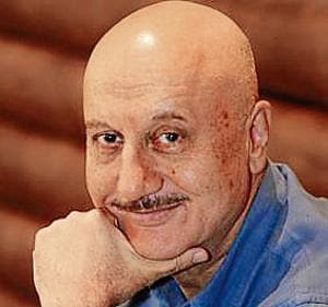 Bollywood film actor Anupam Kher in Ranchi, India