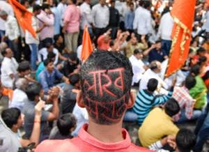 Maratha protests erupted in Chakan, Pune on July 30.
