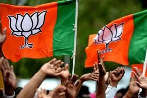 The BJP on Tuesday promised voters in Mizoram rice at Rs 1 per kilo, a football field in all eight district headquarters of the state among others promises in a bid to open its account in the Christian-majority state which goes to polls on November 28.