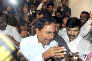 K Chandrasekhar Rao's Telanagana Rashtra Samithi faced a big shock as its MP quit  saying the party was getting distanced from the people  (PTI File Photo)