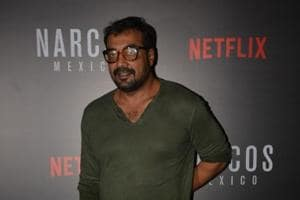 Director Anurag Kashyap at the meet and greet programme with team of web series Narcos: Mexico season 2 in Mumbai.