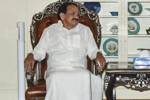 """Venkaiah Naidu said """"a simple memory of Mahatma is not sufficient"""" and the nation needs to follow his principles."""