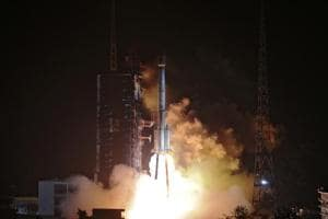 It was the 292th mission of the Long March rocket series, state-run Xinhua news agency reported.