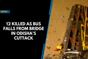 12 killed as bus falls from bridge in Odisha's Cuttack