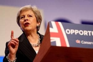 UK prime minister Theresa May comes to Brussels on Wednesday to fine tune the terms of the Brexit divorce.