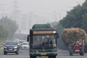 Fifty air­conditioned, CNG-run buses, being used for the city service between Noida and Greater Noida, would be employed as feeder bus services once the Metro Link is operational.