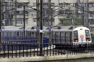 Delhi Metro's Blue Line hit another snag late Tuesday leaving users complaining (File photo)