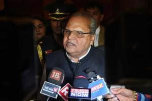 In a sudden development, J&K governor Satya Pal Malik tonight dissolved the state assembly, which has been in suspended animation, shortly after rival alliances staked claim to form the government.