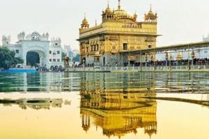 The Golden Temple in Amritsar is one of the holiest shrines of the Sikh community.